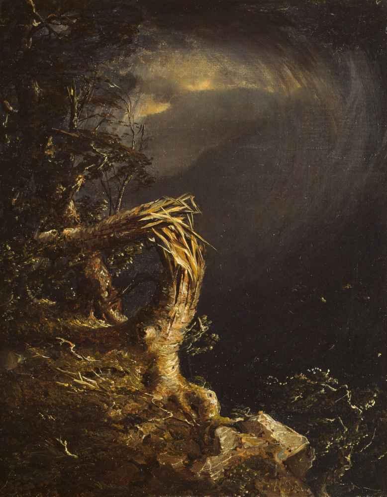 Blasted Tree - Jasper Francis Cropsey