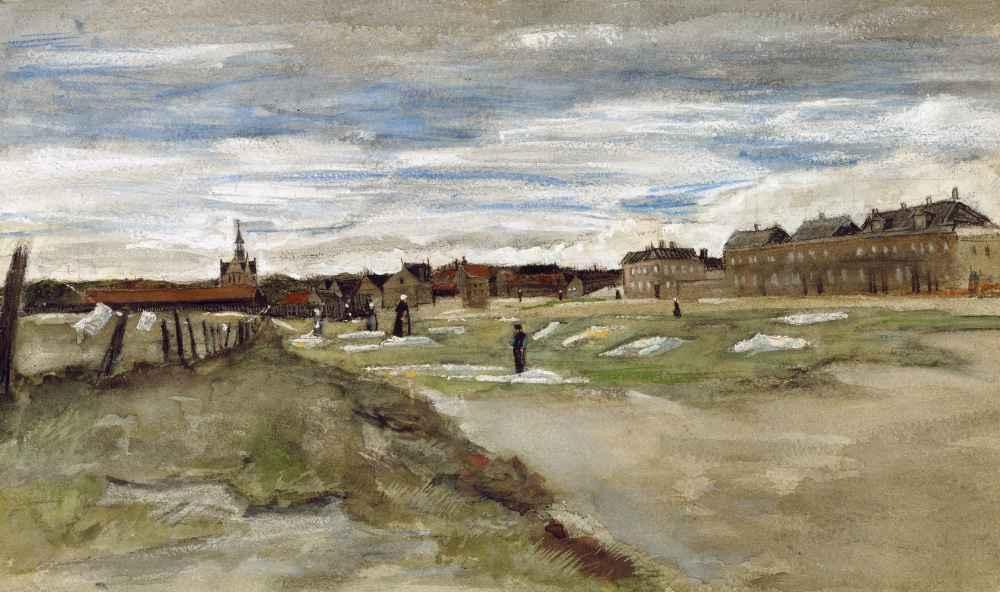 Bleachery at Scheveningen - Vincent van Gogh