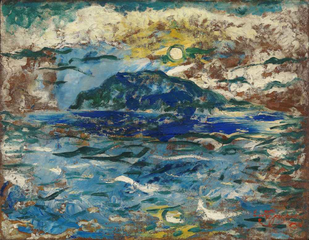 Blue Sea - Ernst Abraham Josephson