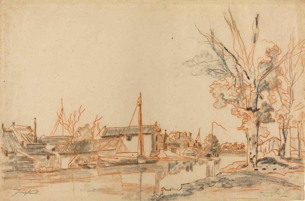Bords de Canal - Johan Barthold Jongkind