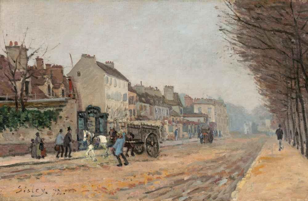 Boulevard Héloïse, Argenteuil - Alfred Sisley