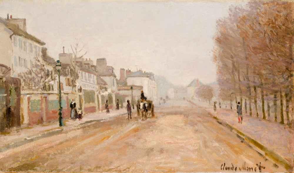 Boulevard Héloise, Argenteuil - Claude Monet