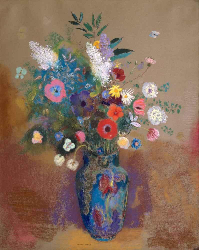 Bouquet of Flowers - Odilon Redon