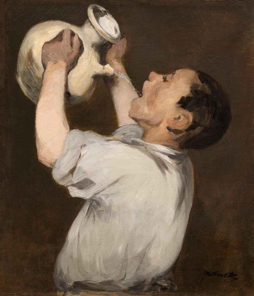 Boy with Pitcher (La Régalade) - Edouard Manet
