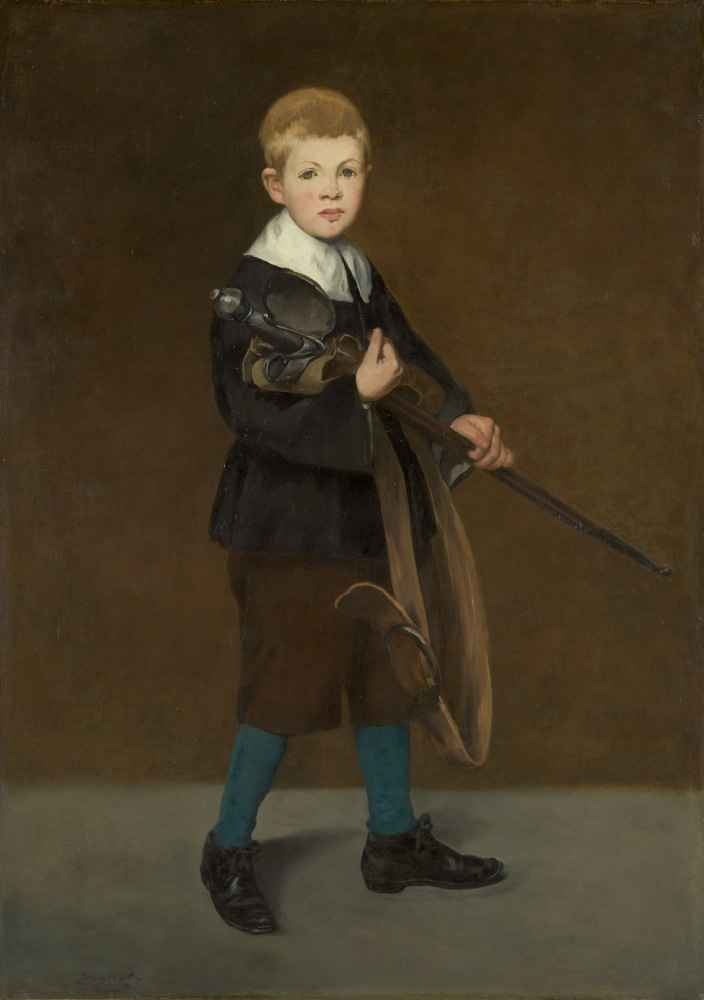 Boy with a Sword - Edouard Manet