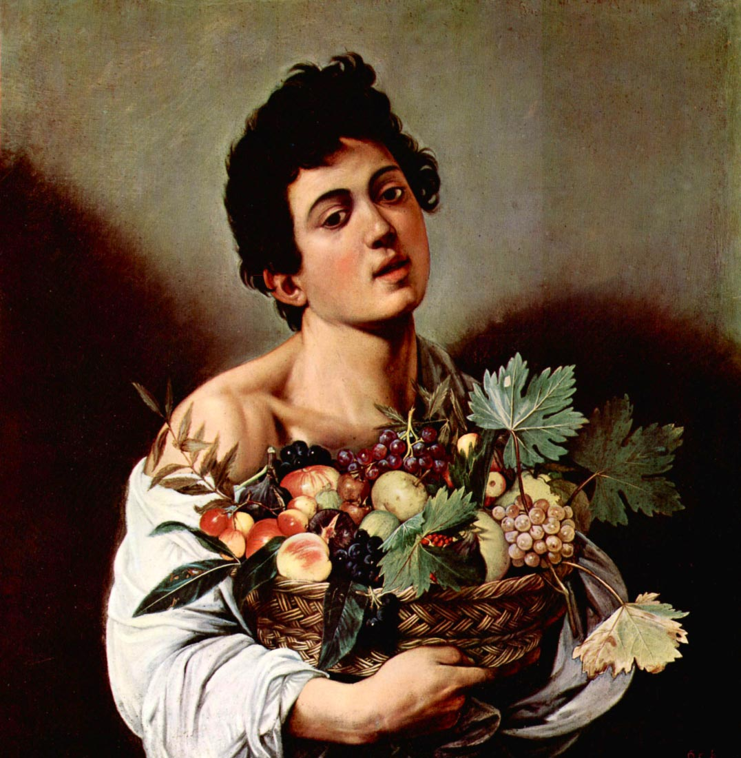 Boy with fruit basket - Caravaggio