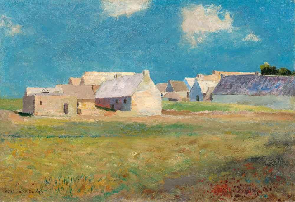 Breton Village - Odilon Redon