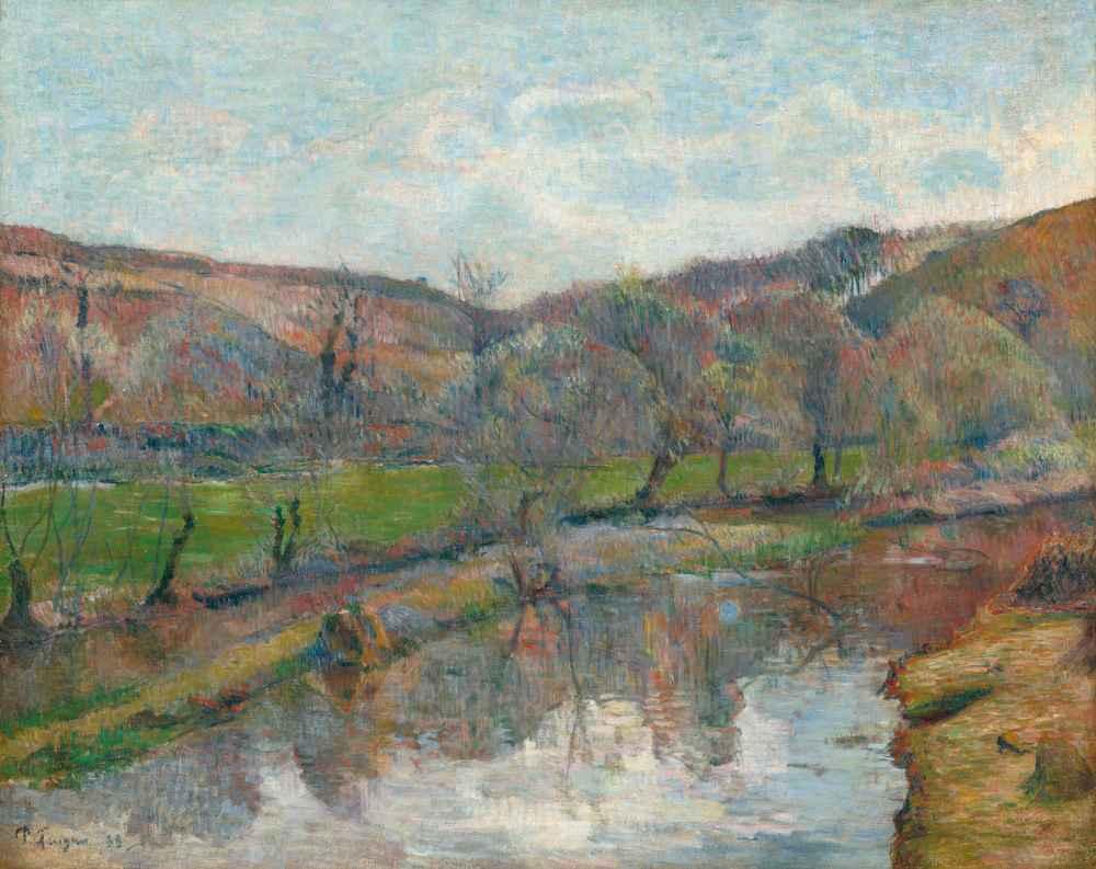 Brittany Landscape - Paul Gauguin