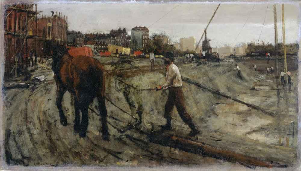 Building Site - George Hendrik Breitner