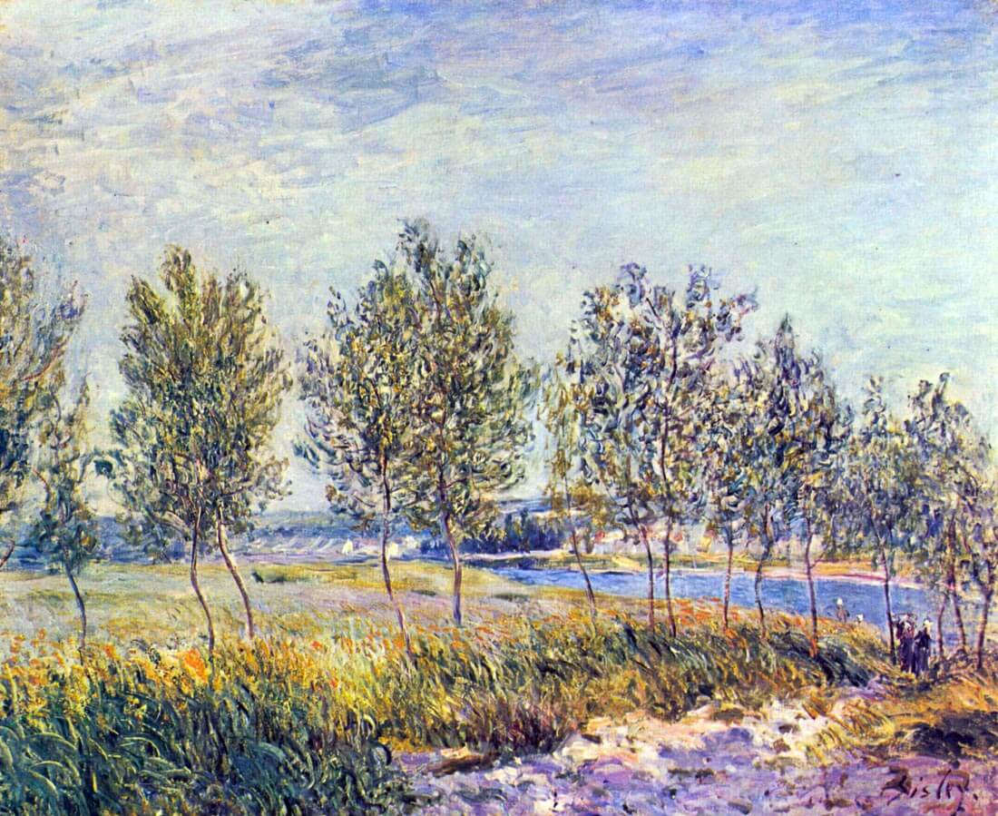 By meadow - Sisley