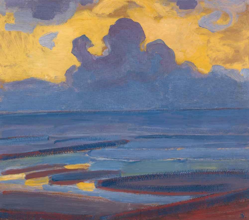 By the Sea - Piet Mondrian