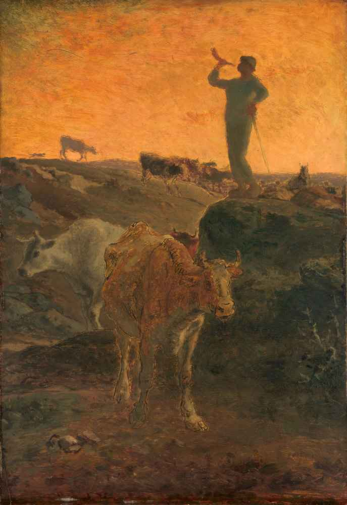 Calling the Cows Home - Jean Francois Millet