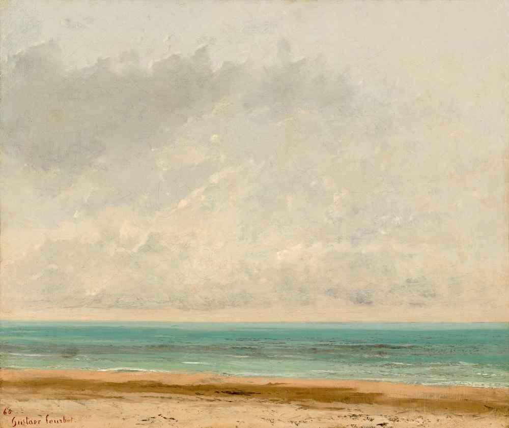 Calm Sea - Gustave Courbet