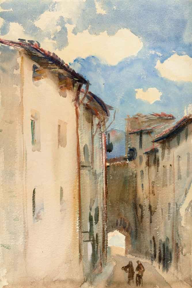 Camprodon, Spain - John Singer Sargent