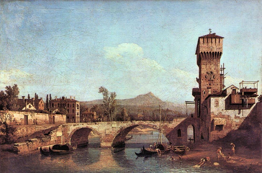 Capriccio Veneto - Canaletto
