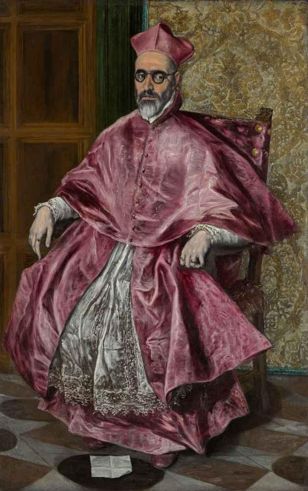 Cardinal Fernando Niño de Guevara (1541–1609) - El Greco