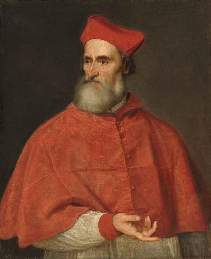 Cardinal Pietro Bembo - Tycjan
