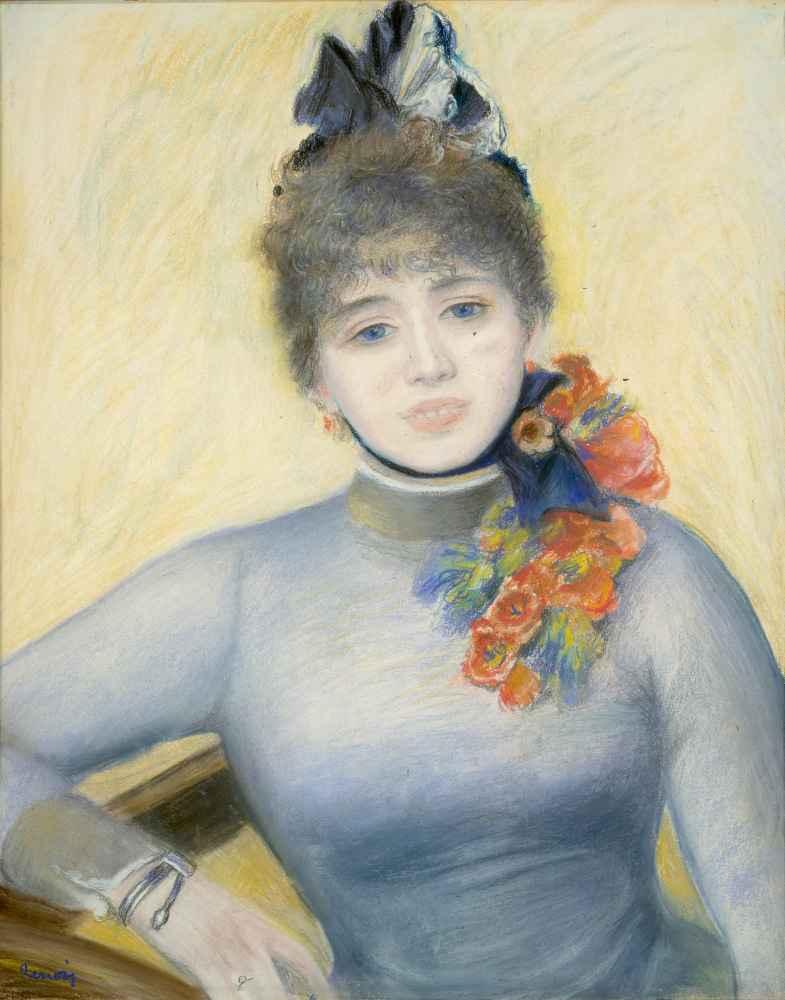 Caroline Rémy (Séverine) - Auguste Renoir
