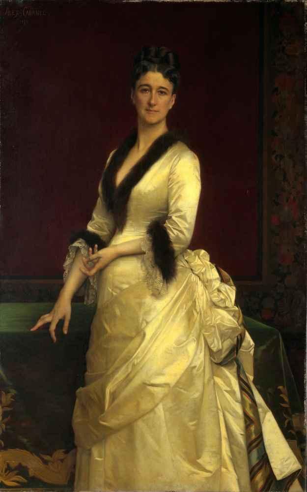 Catharine Lorillard Wolfe (1828–1887) - Alexandre Cabanel