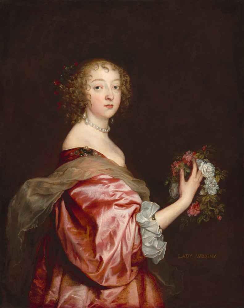 Catherine Howard, Lady de Aubigny - Antoon van Dyck