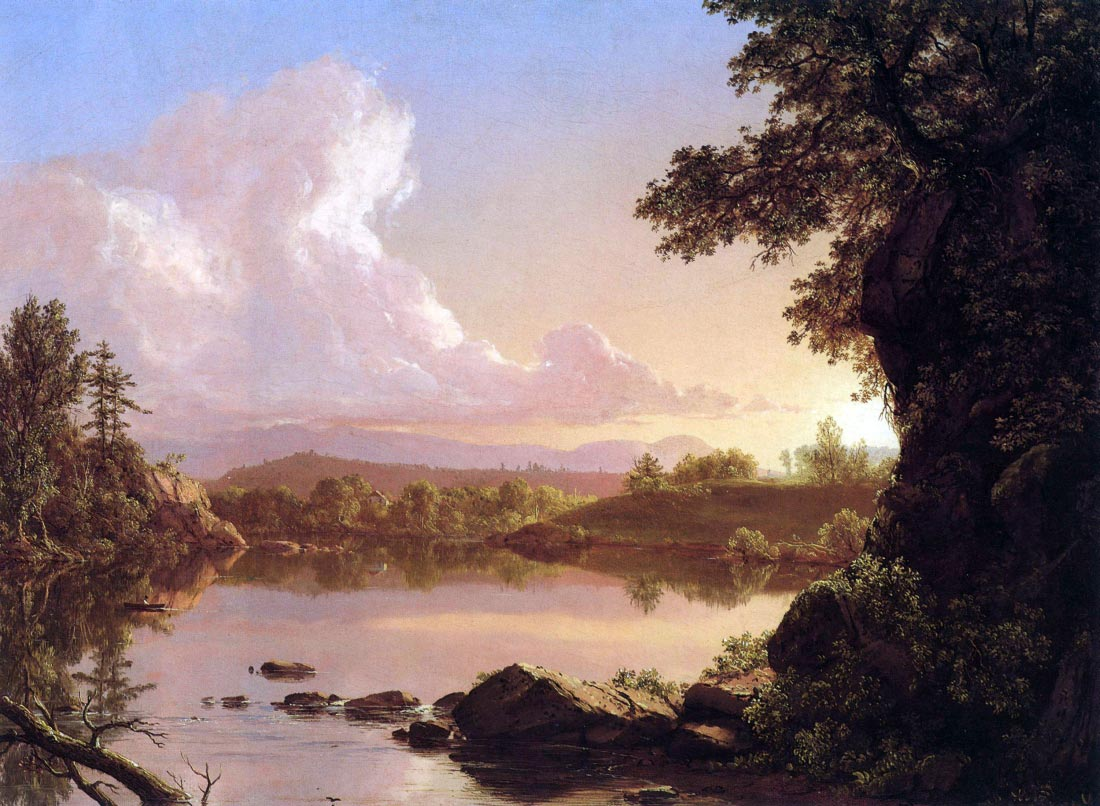 Catskill Creek - Frederick Edwin Church