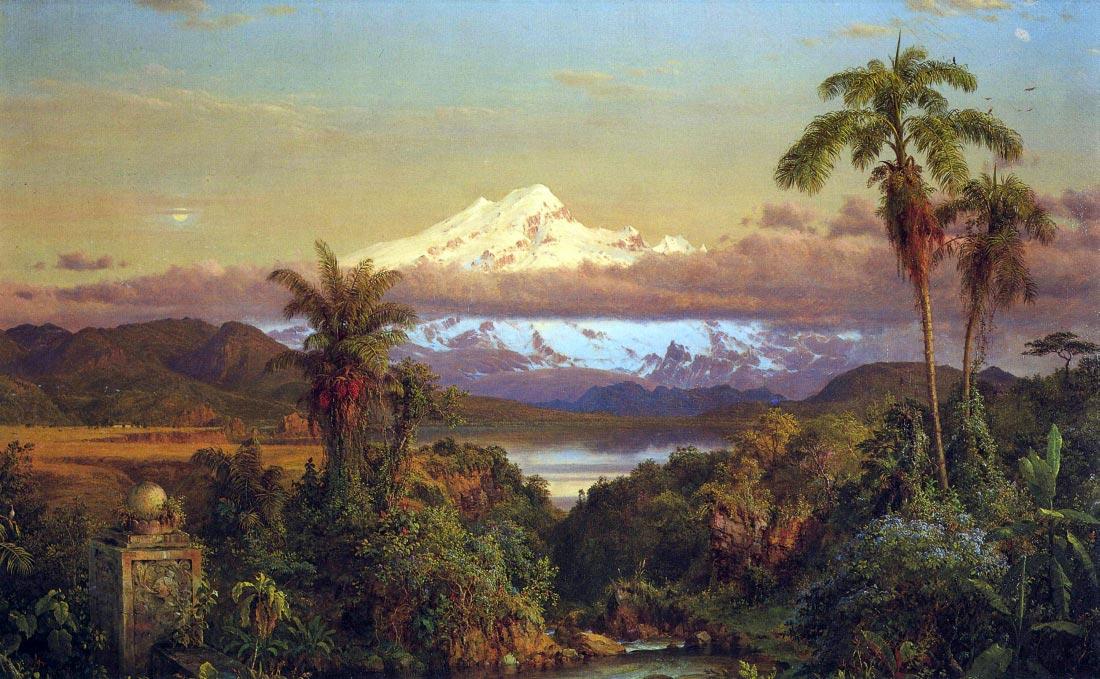 Cayambe, Ecuador - Frederick Edwin Church
