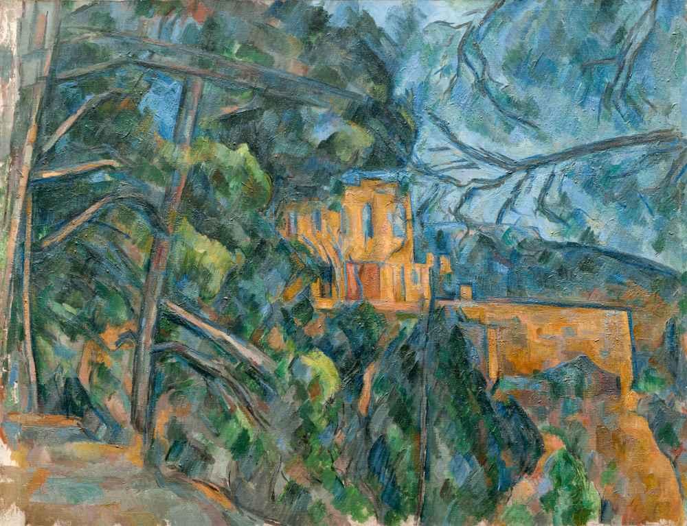 Château Noir - Paul Cezanne