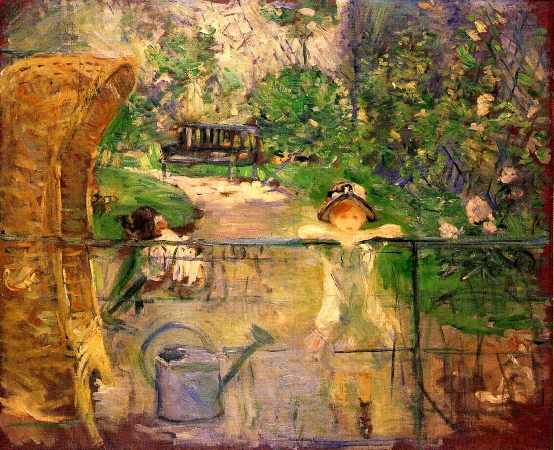 Chair in the garden - Morisot