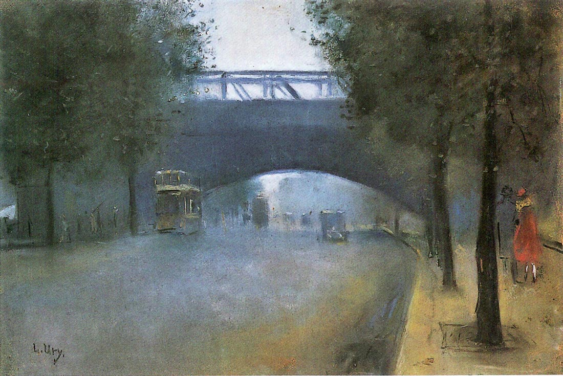 Charing Cross - London - Lesser Ury