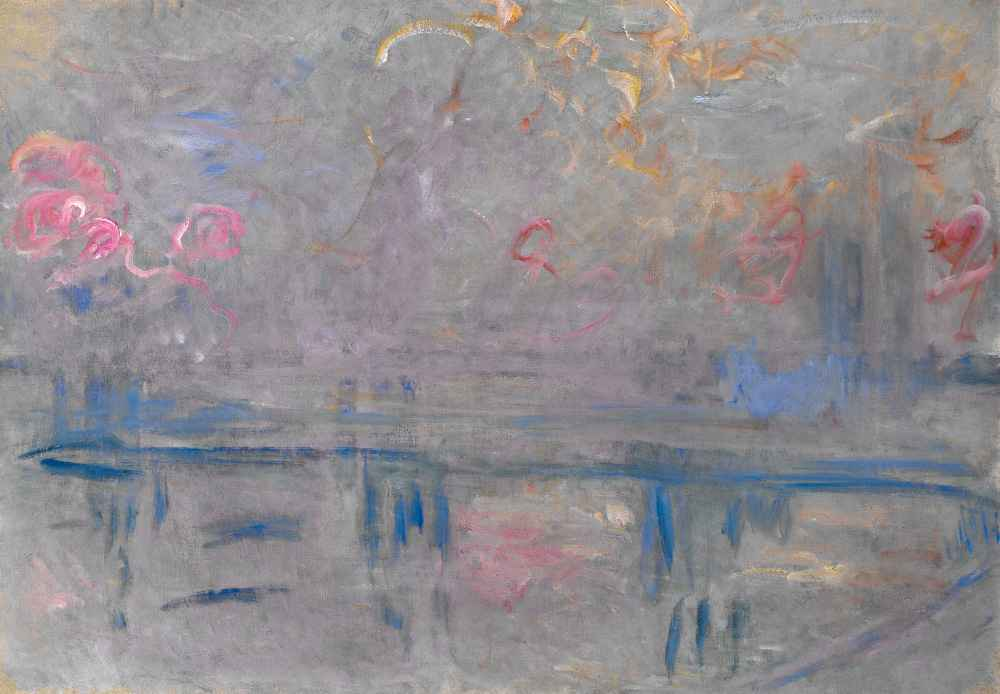 Charing Cross Bridge 2 - Claude Monet