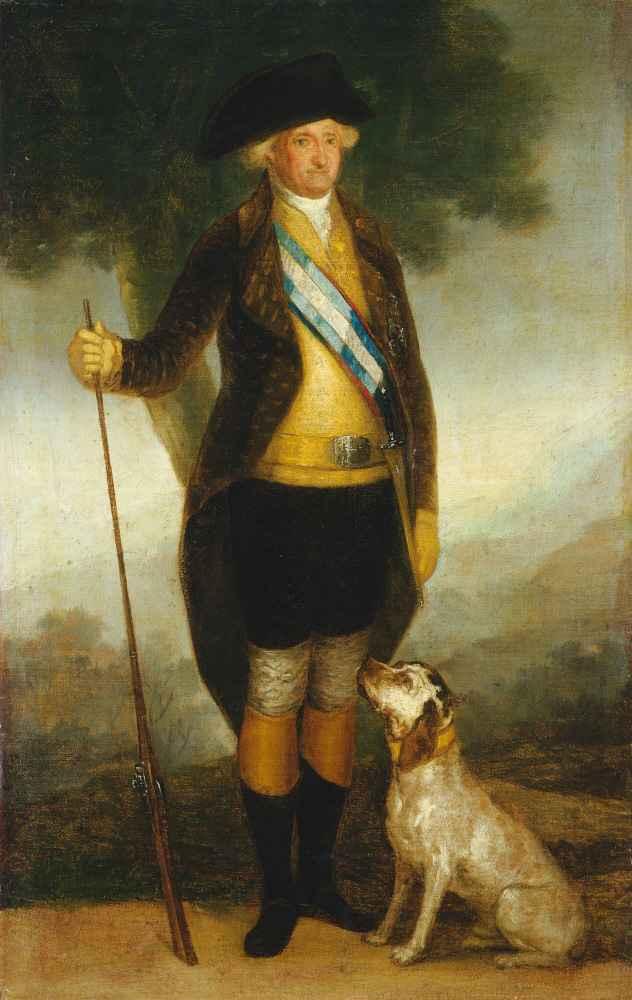 Charles IV of Spain as Huntsman - Francisco Goya