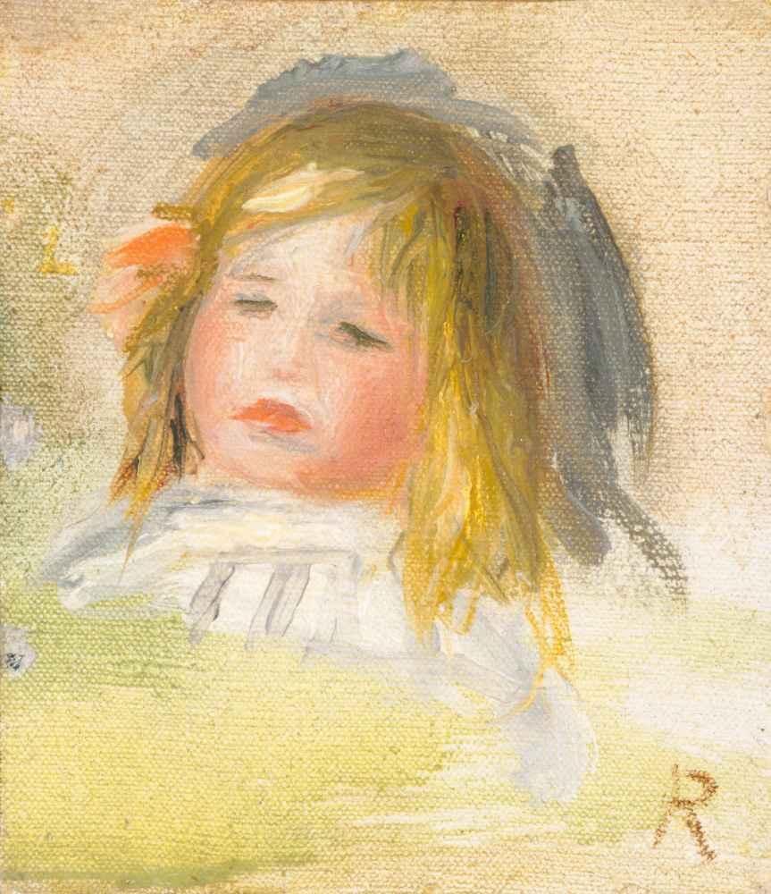 Child with Blond Hair - Auguste Renoir