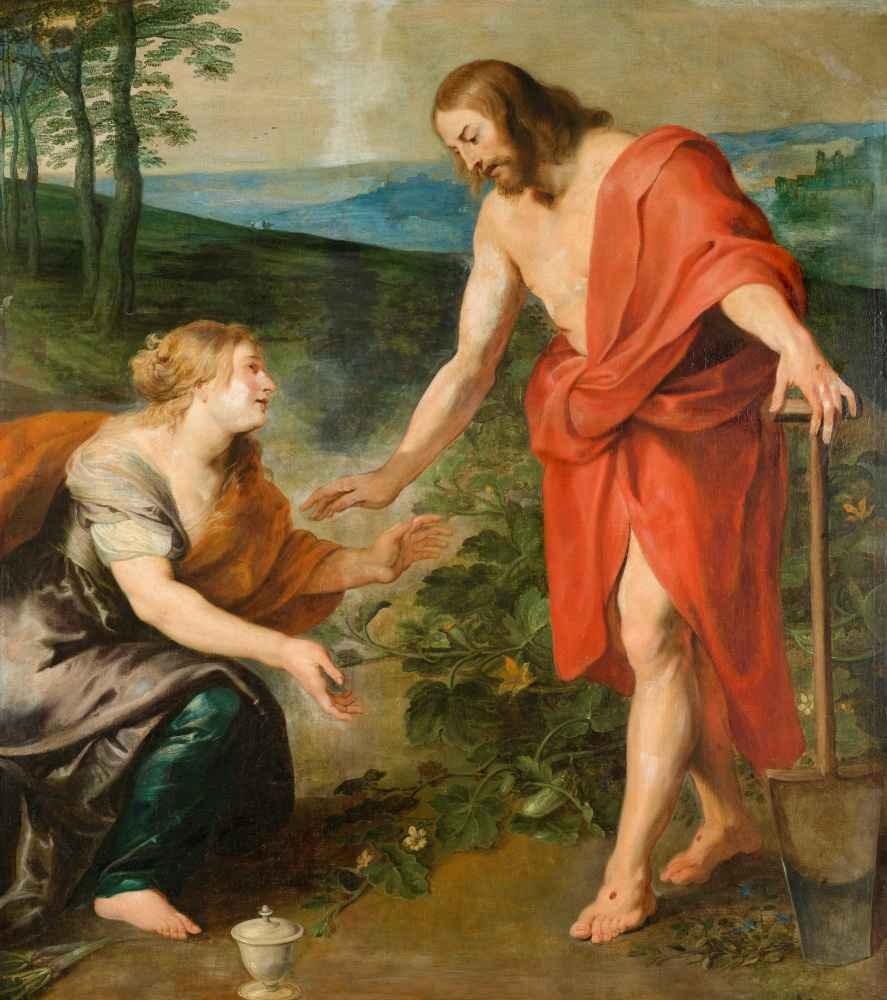 Christ Appearing to Mary Magdalen as a Gardener - Peter Paul Rubens