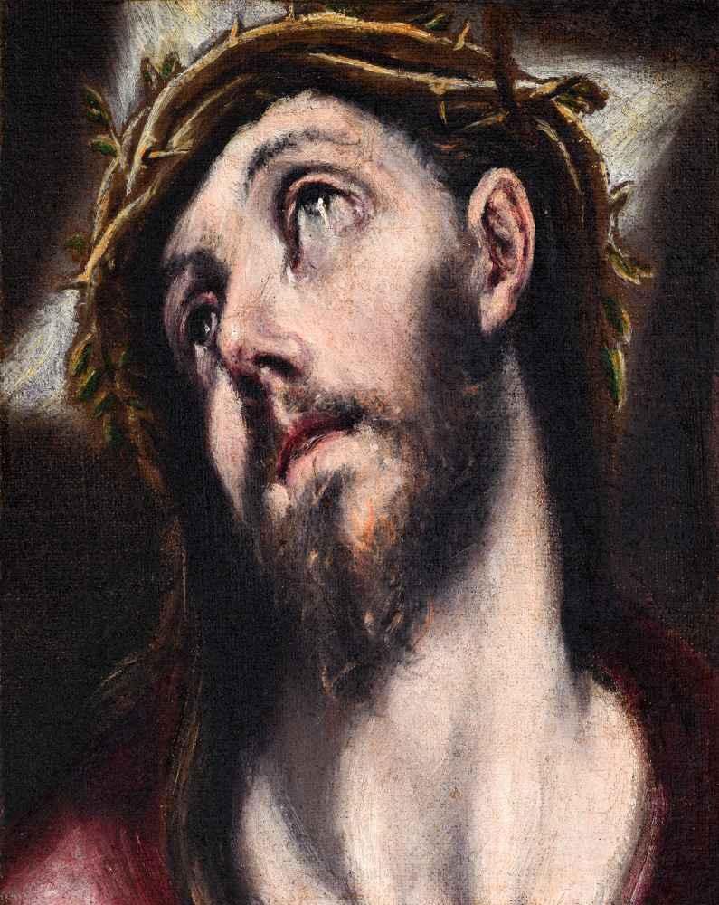 Christ Bearing the Cross - El Greco