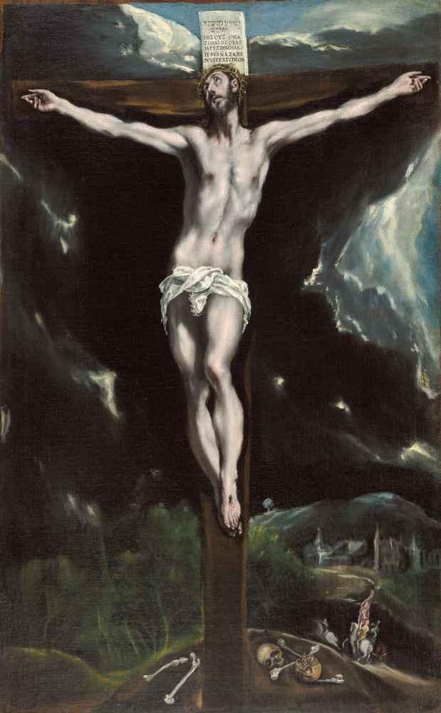 Christ on the Cross - El Greco