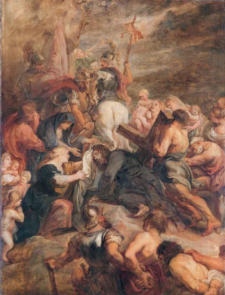 Christ on the Way to Calvary - Peter Paul Rubens
