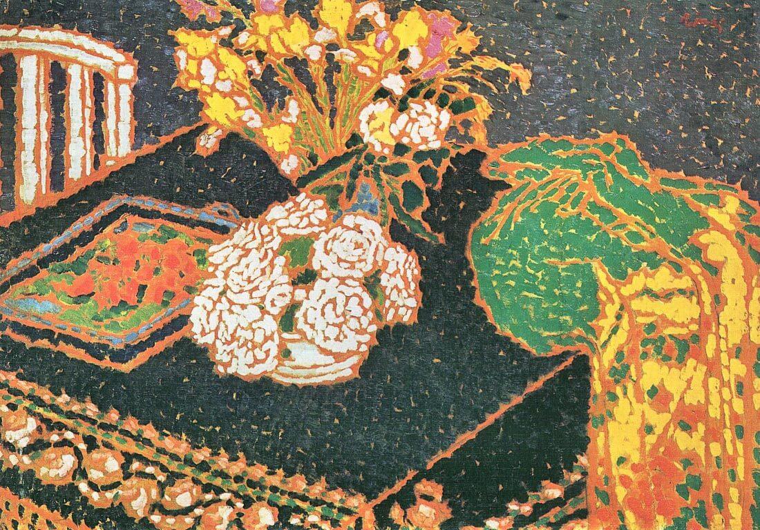 Chrysanthemums - Joseph Rippl-Ronai