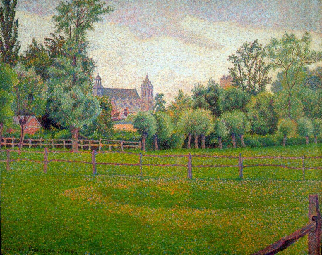Church at Gisors - Pissarro