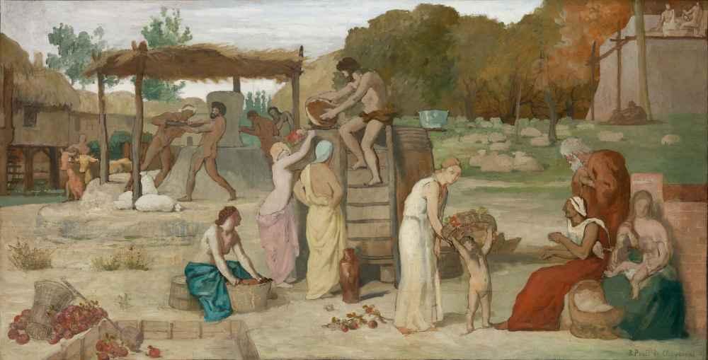 Cider - Pierre Puvis de Chavannes