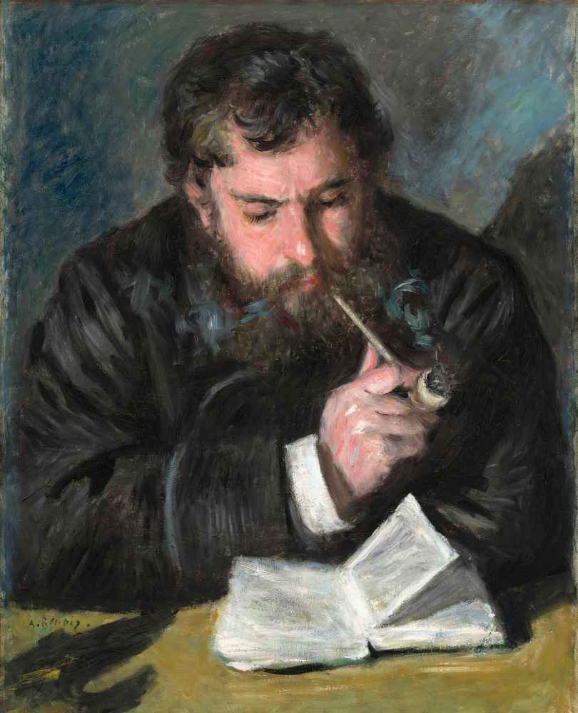 Claude Monet 1872 - Auguste Renoir