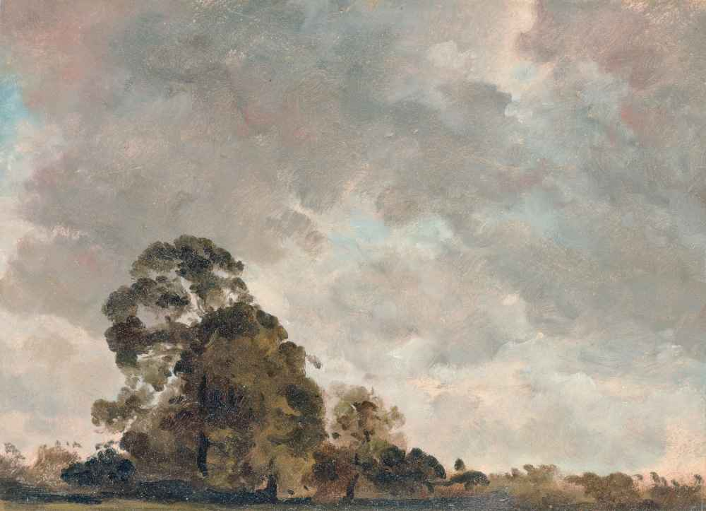 Cloud Study 4 - John Constable