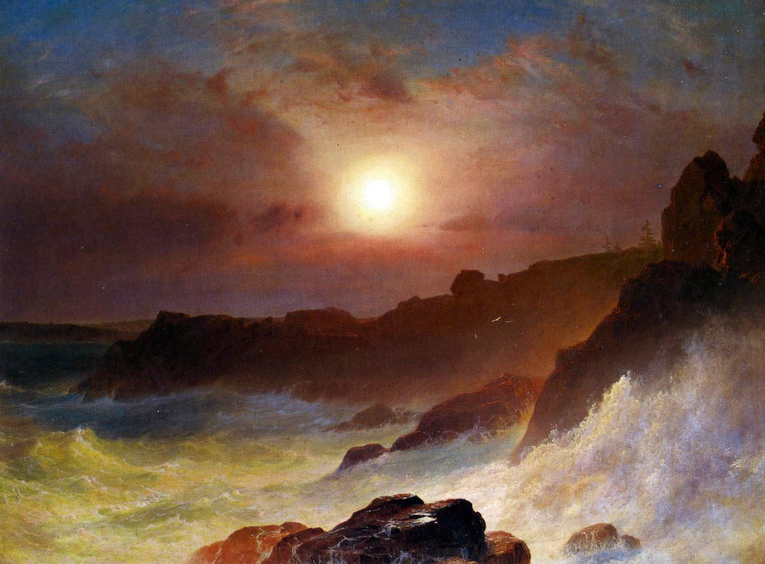Coast Scene, Mount Desert - Frederick Edwin Church