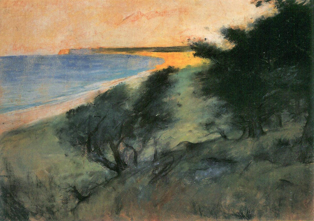 Coast of Rugen - Lesser Ury