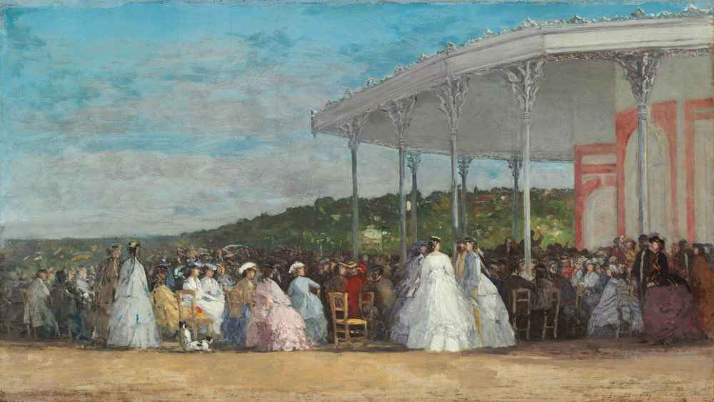 Concert at the Casino of Deauville - Eugene Boudin