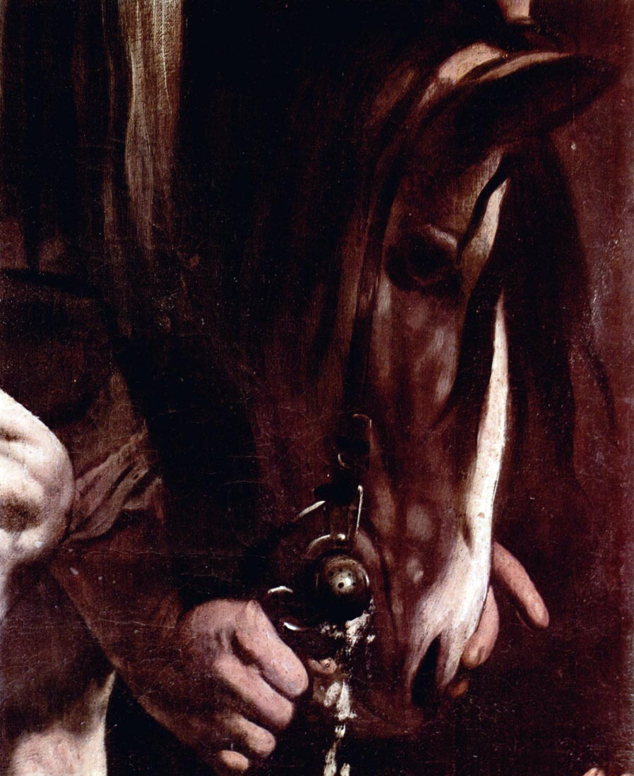 Conversion of Saul detail - Caravaggio