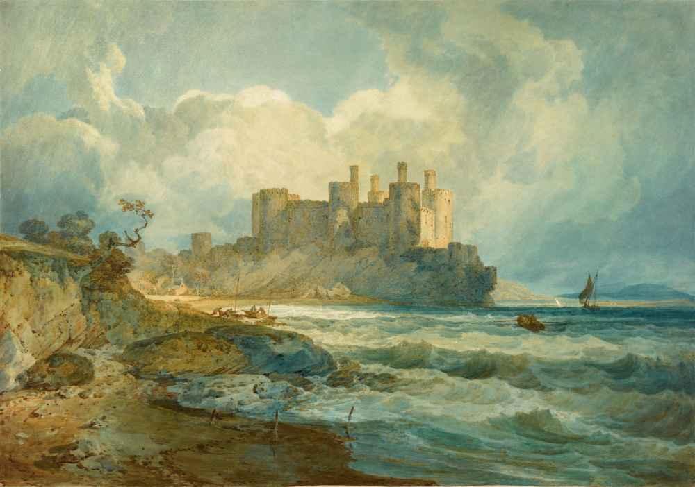 Conway Castle, North Wales - Joseph Mallord William Turner