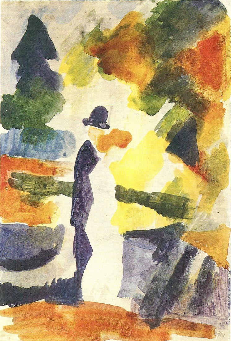 Couple in the park - August Macke
