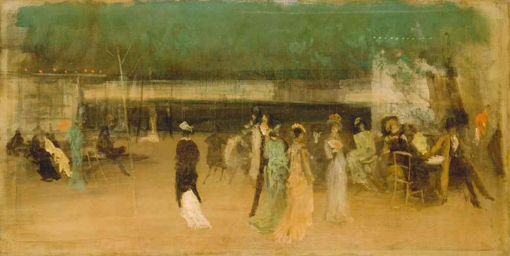 Cremorne Gardens, No. 2 - James Abbott McNeill Whistler