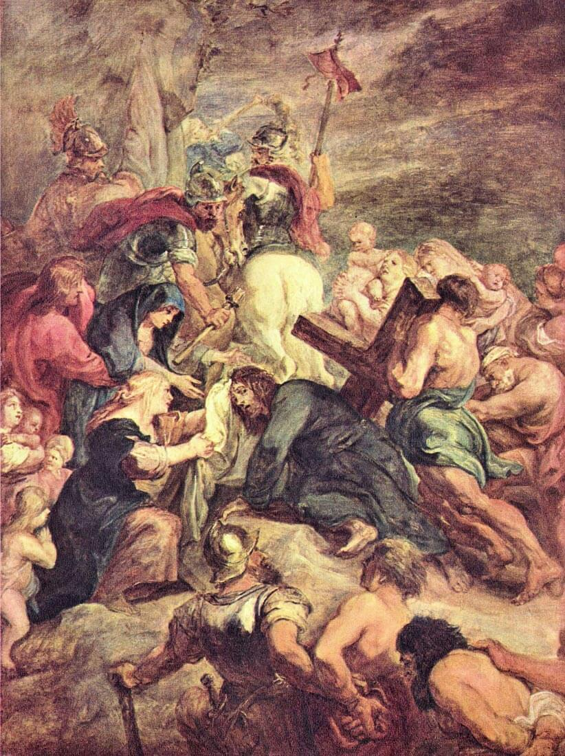 Crucifixion of Christ - Rubens