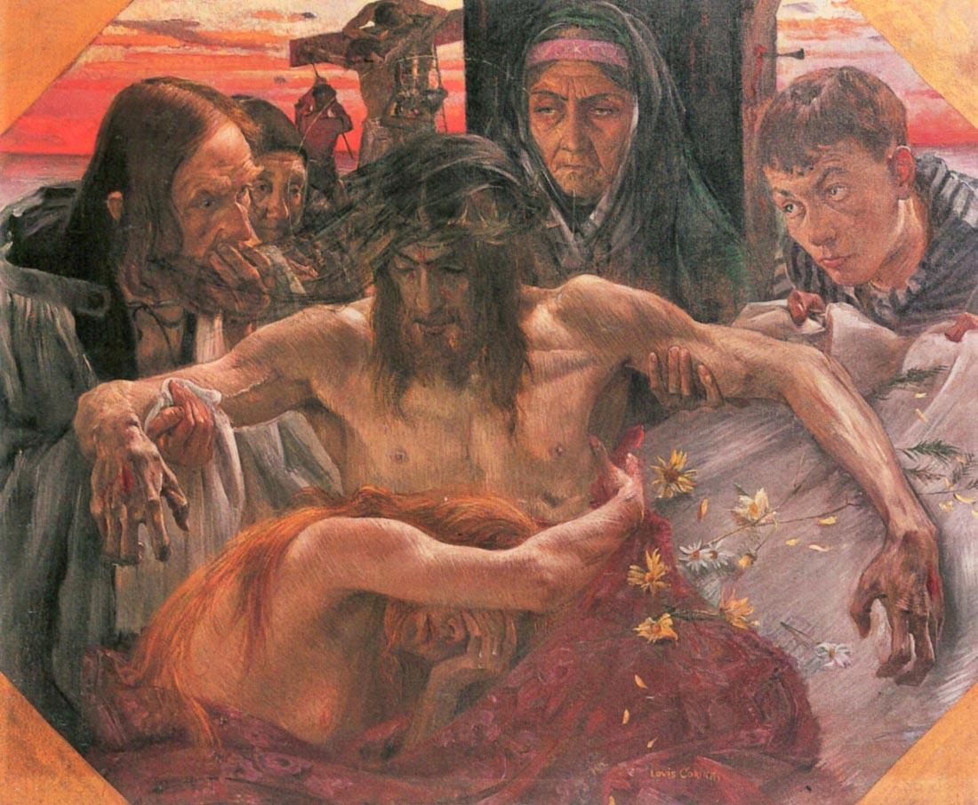 Crucify - Lovis Corinth